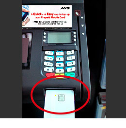 how to get debit card back from atm