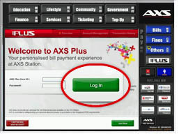 Axs login